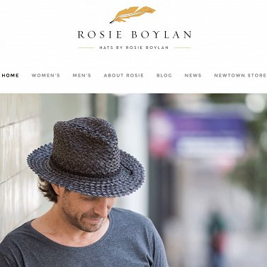Hatsbyrosieboylan web page shop for hats